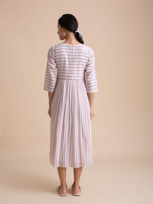 Backwoods Stripe Dress - BunaStudio