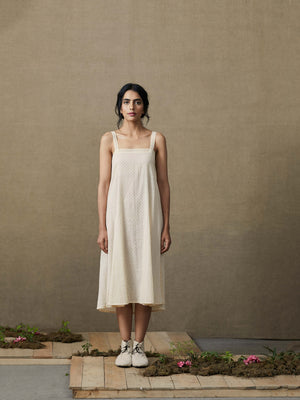 Bloom Gathered Dress - BunaStudio