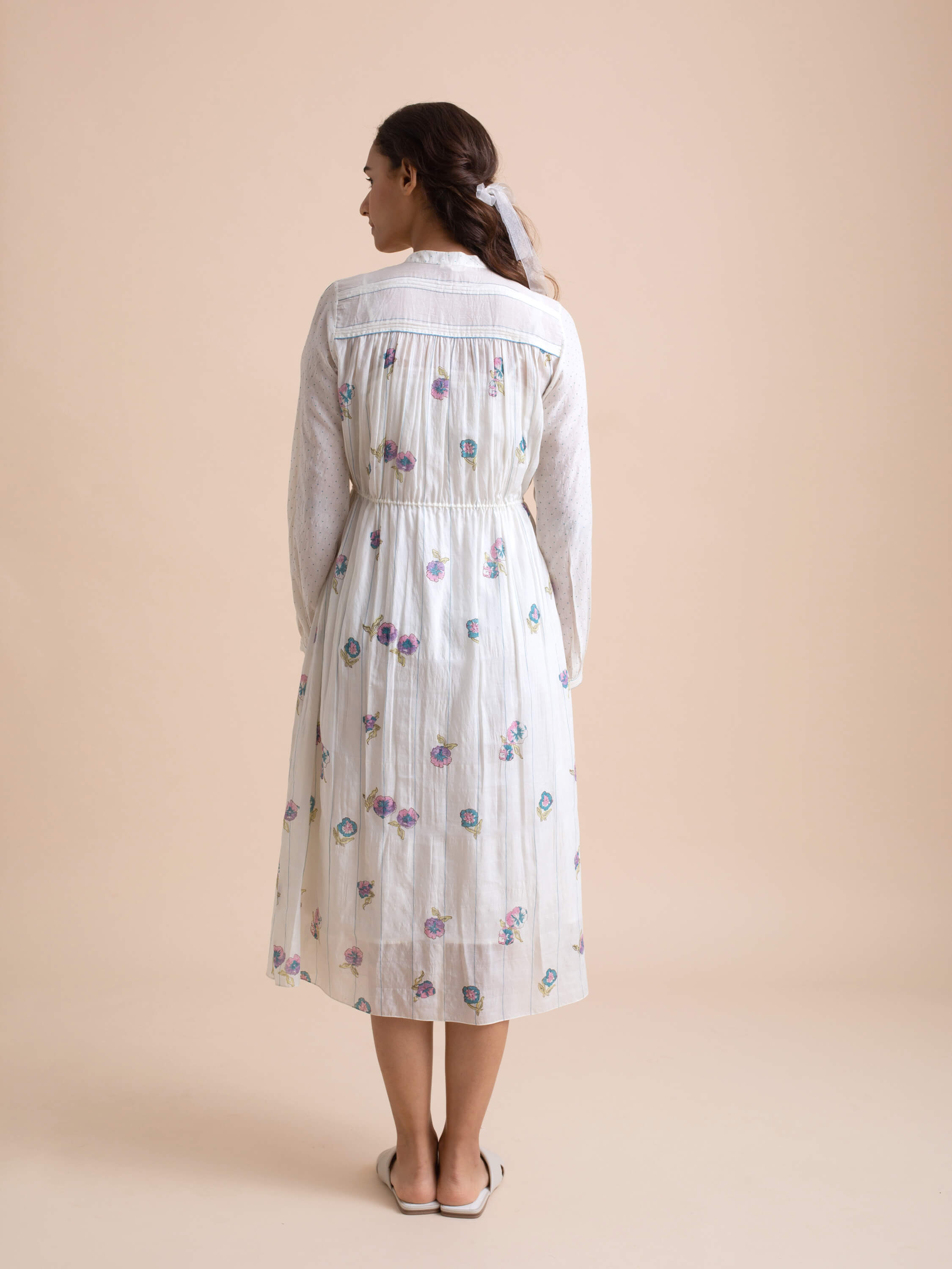 Blooming Violets Dress - BunaStudio