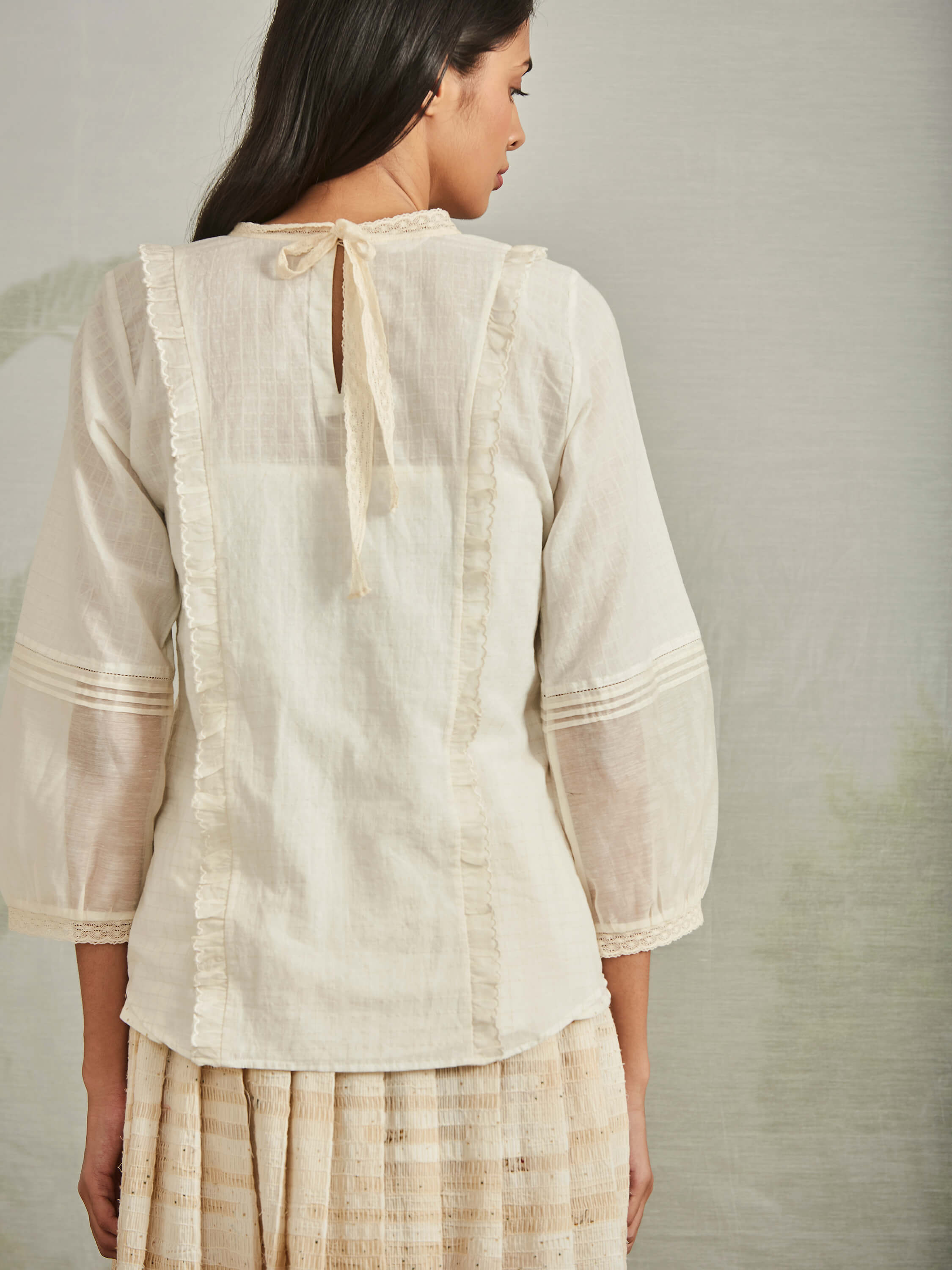 Cloud Atlas Blouse - BunaStudio