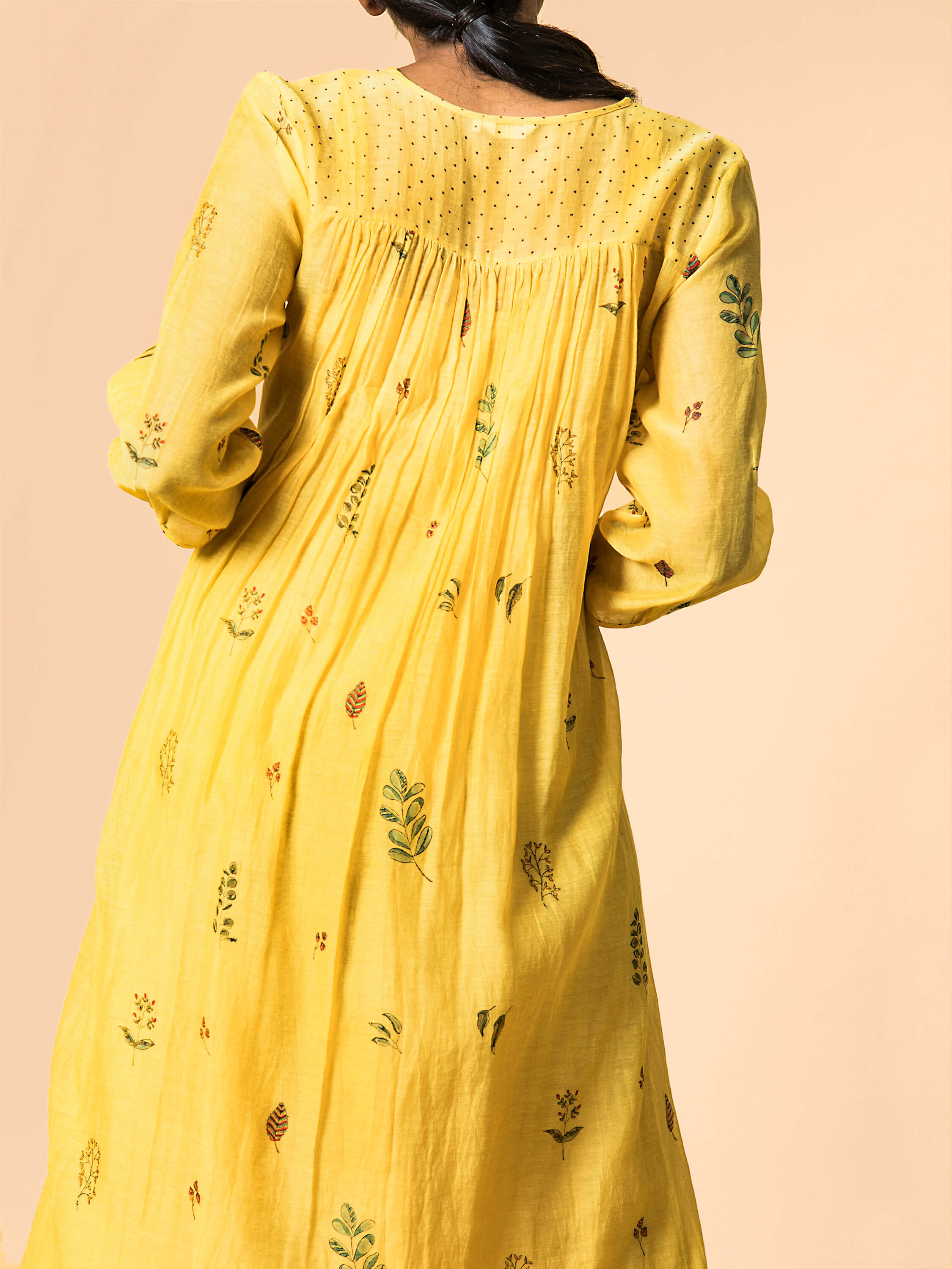 Cornfield Midi Dress - BunaStudio