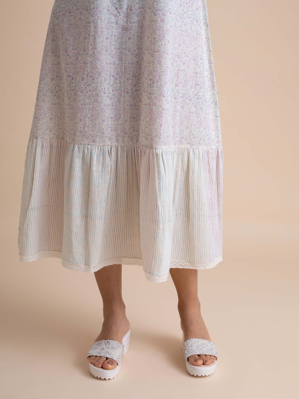 Herbage Shift Dress - BunaStudio