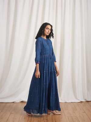 Light of the Heart Maxi Dress - BunaStudio