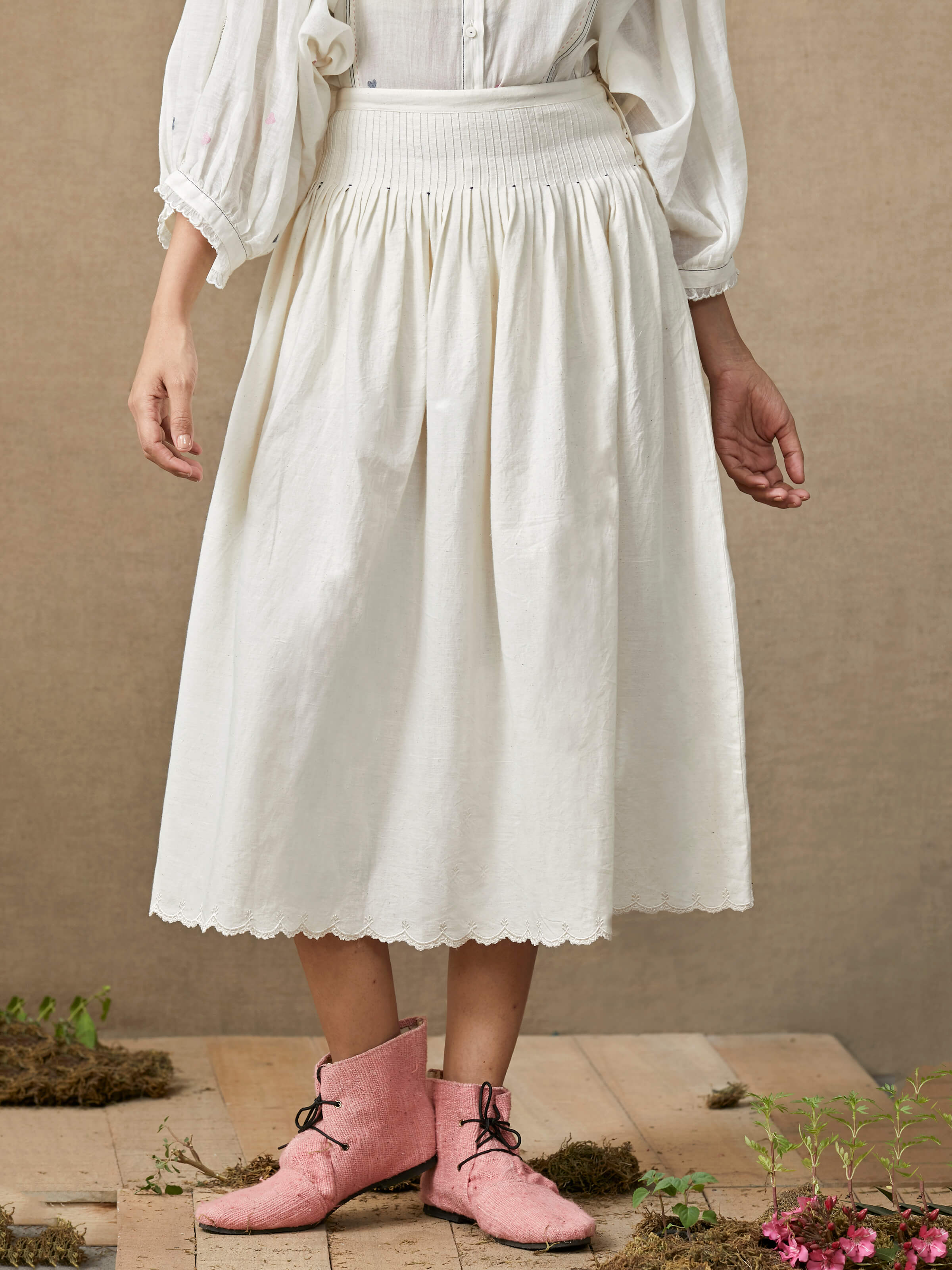 Melody Midi Skirt - BunaStudio