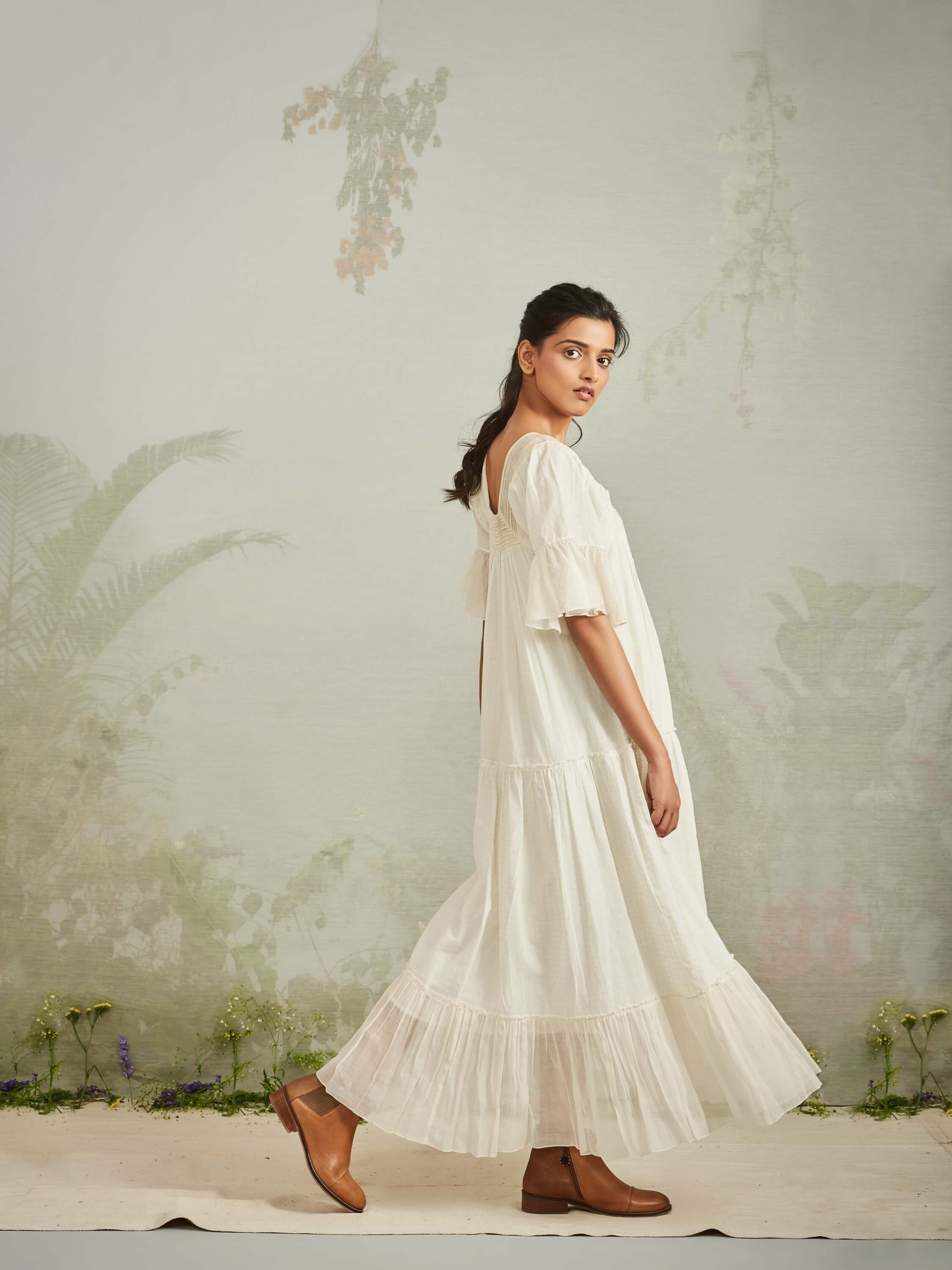 Morning Mist Maxi Dress - BunaStudio