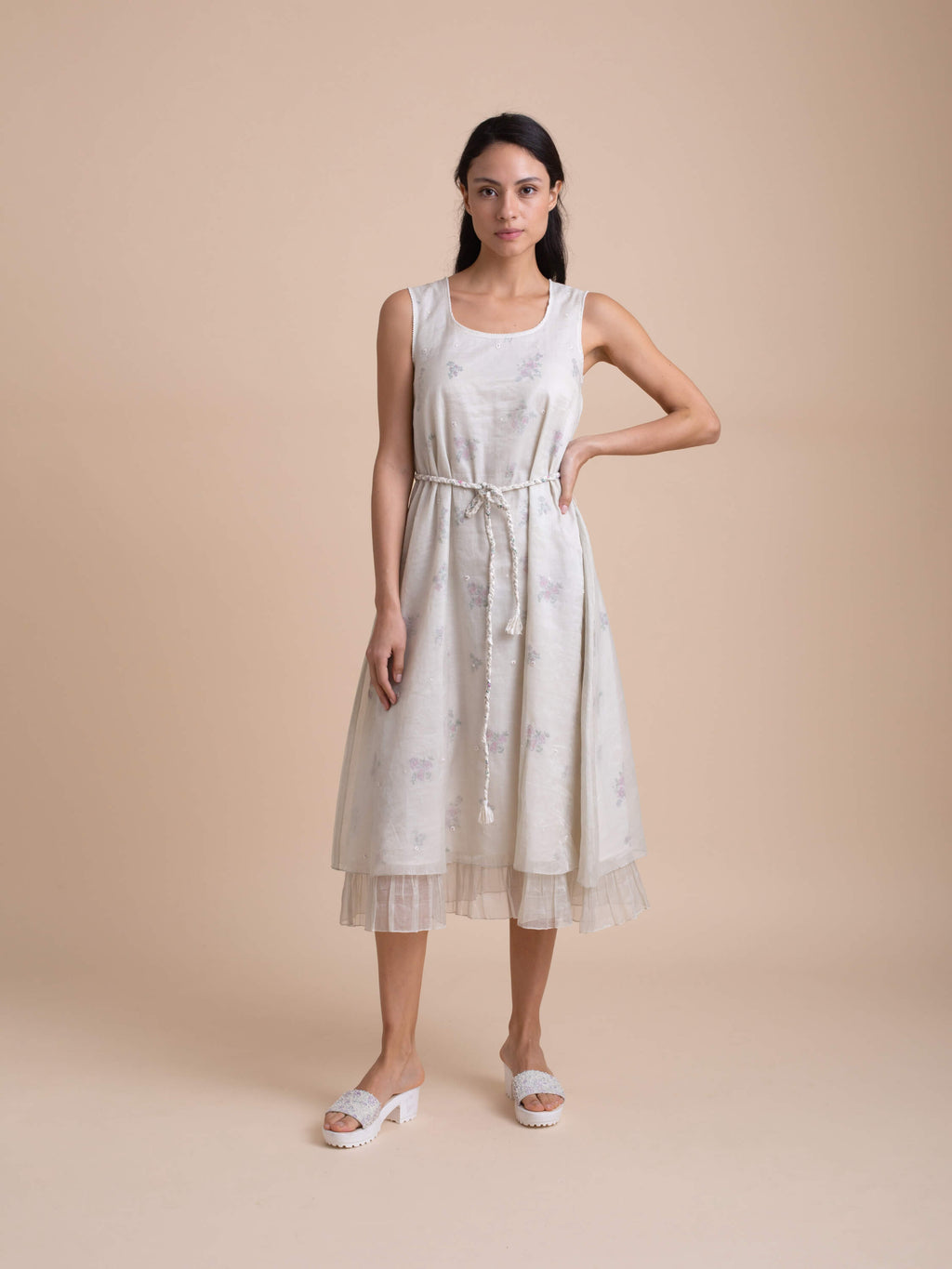 Pressed Flowers Dress - BunaStudio