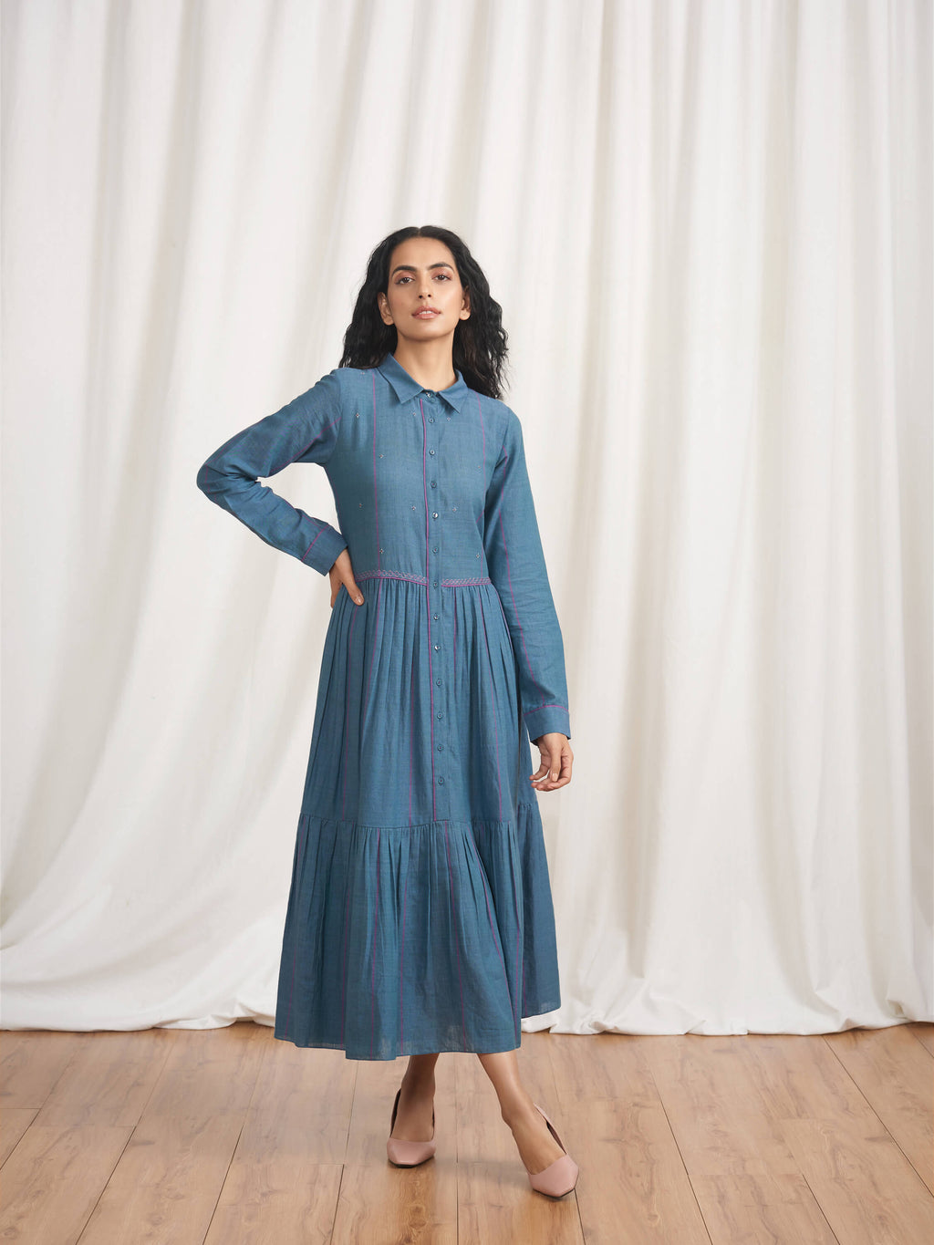 Ravangla Shirt Dress - BunaStudio