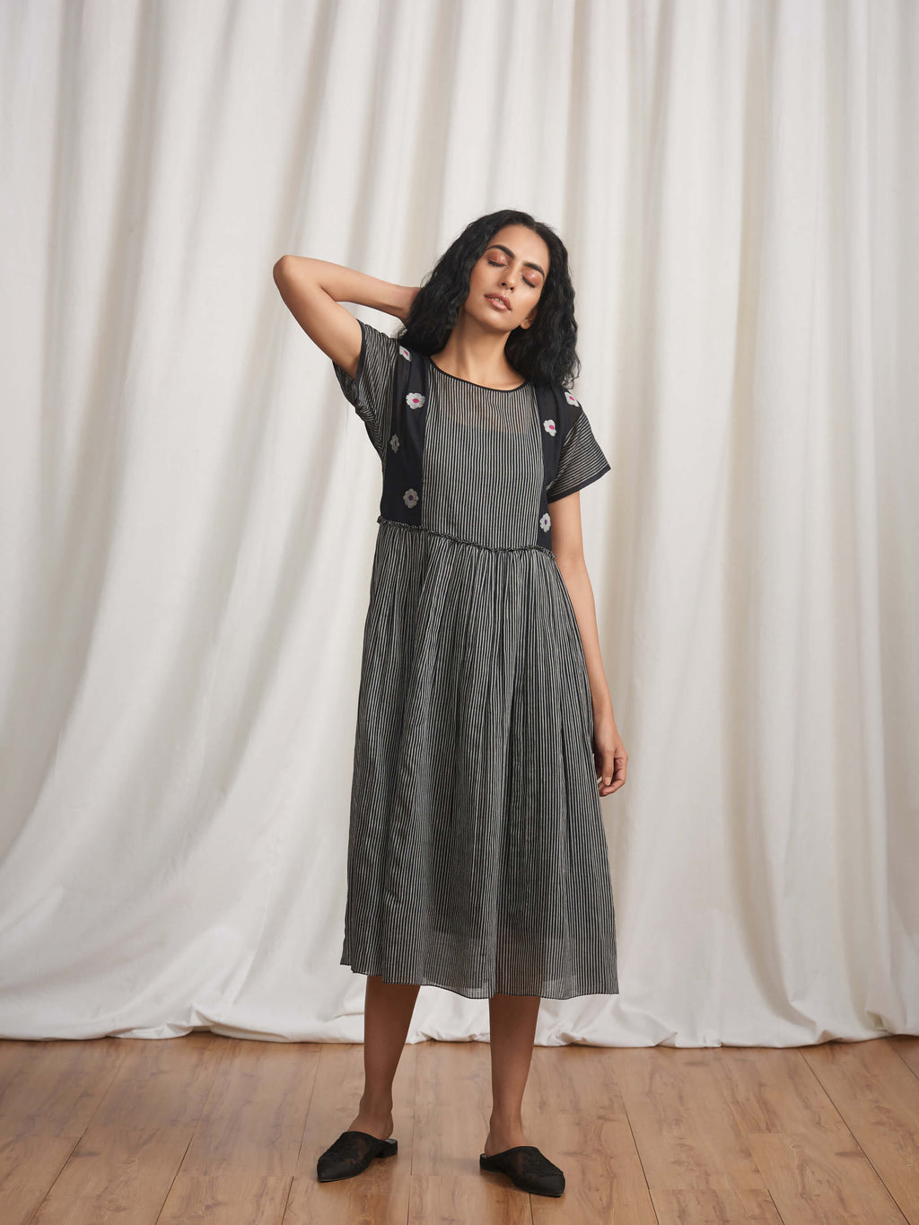 Shadow Fall Midi Dress - BunaStudio