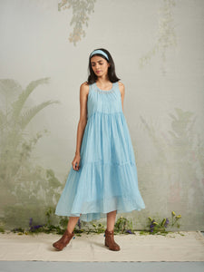 Blue Notes Dress - BunaStudio