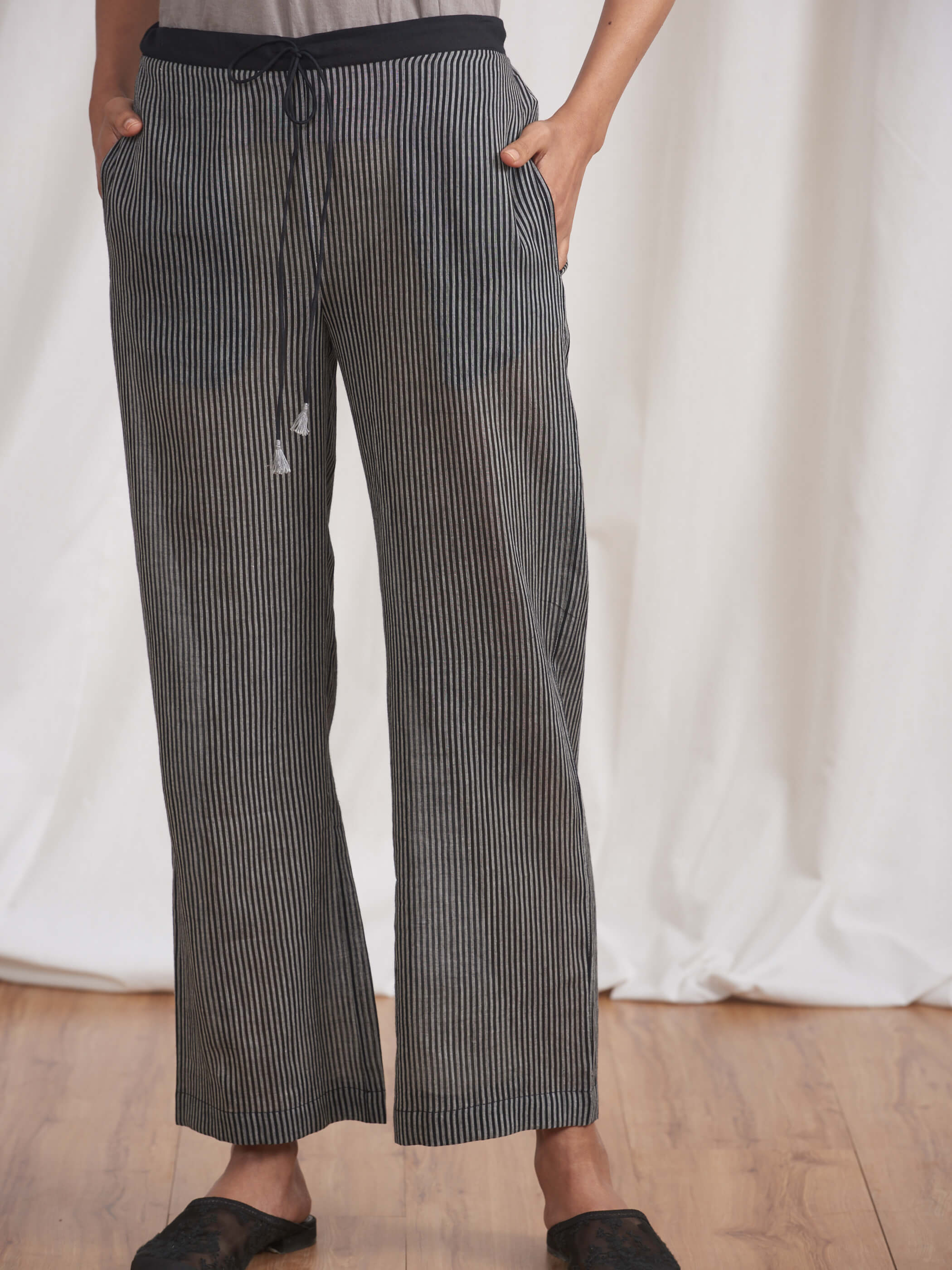 Yozora Stripe Pants - BunaStudio