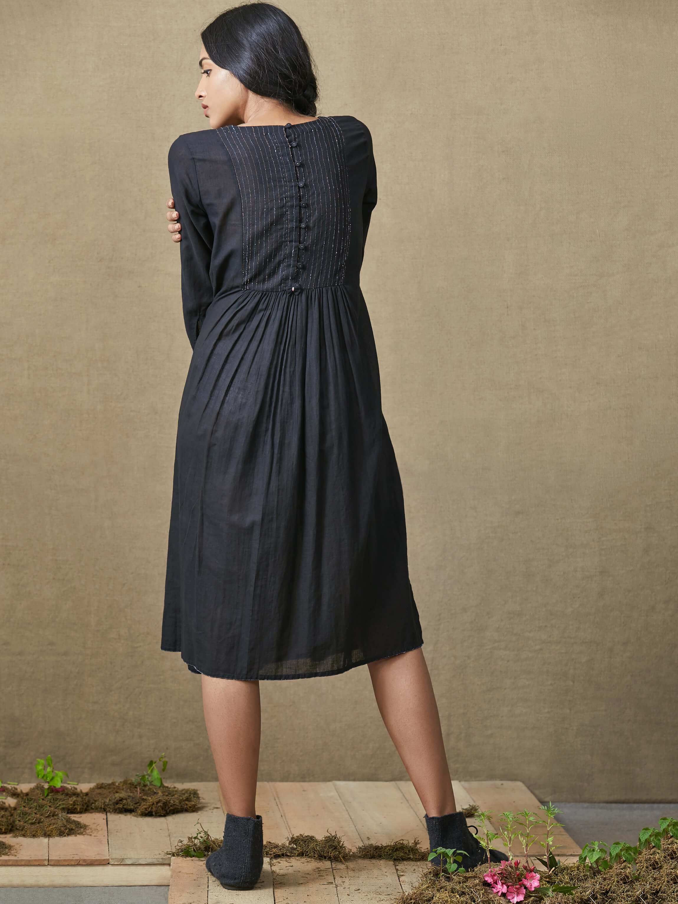 Wabi Sabi Midi Dress - BunaStudio