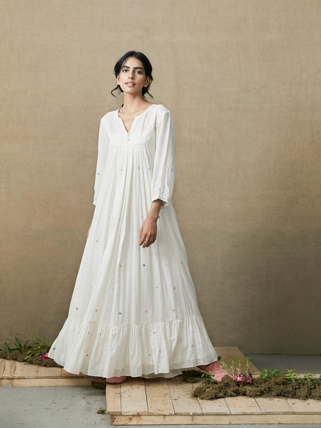 Wind Whispers Maxi Dress - BunaStudio
