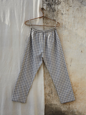 Dusk Gingam Trousers - BunaStudio