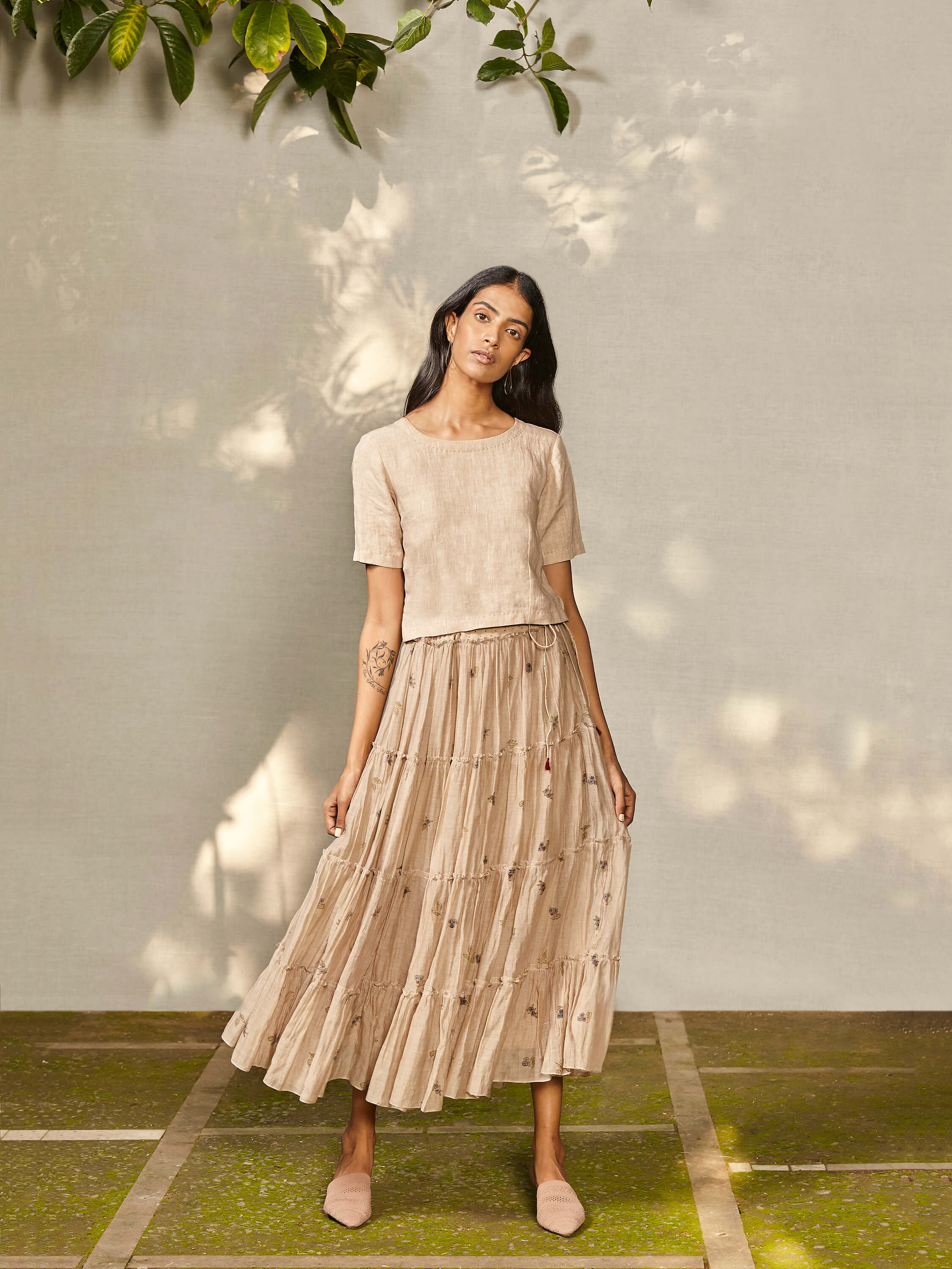 Floret Tier Skirt - BunaStudio