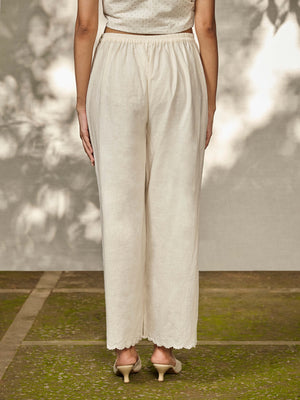 Pearl Scallop Pants - BunaStudio
