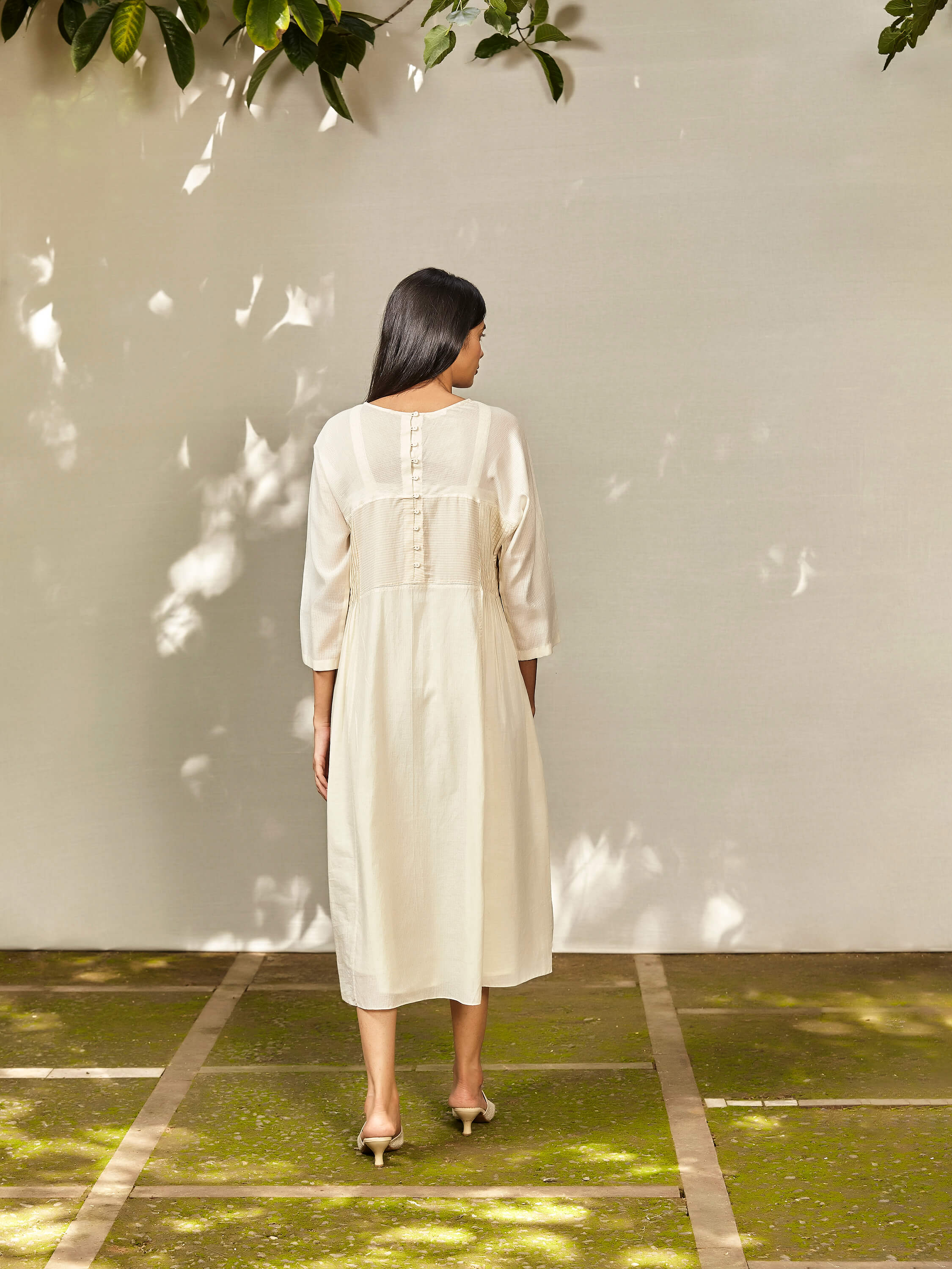 Vapour Clouds Dress - BunaStudio
