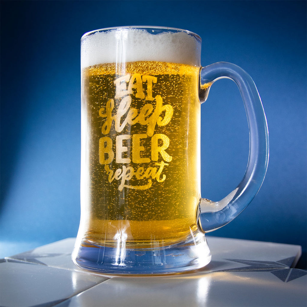 Beer Stein Tankard Glass Mug