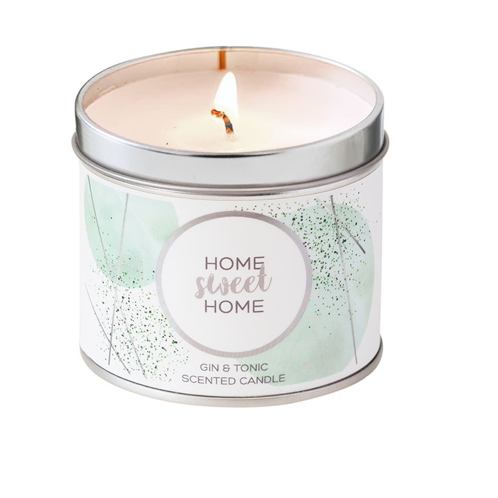 Home Sweet Home Scented Tin Candle