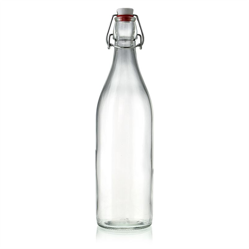 Swing Top Glass Bottle 1 Litre