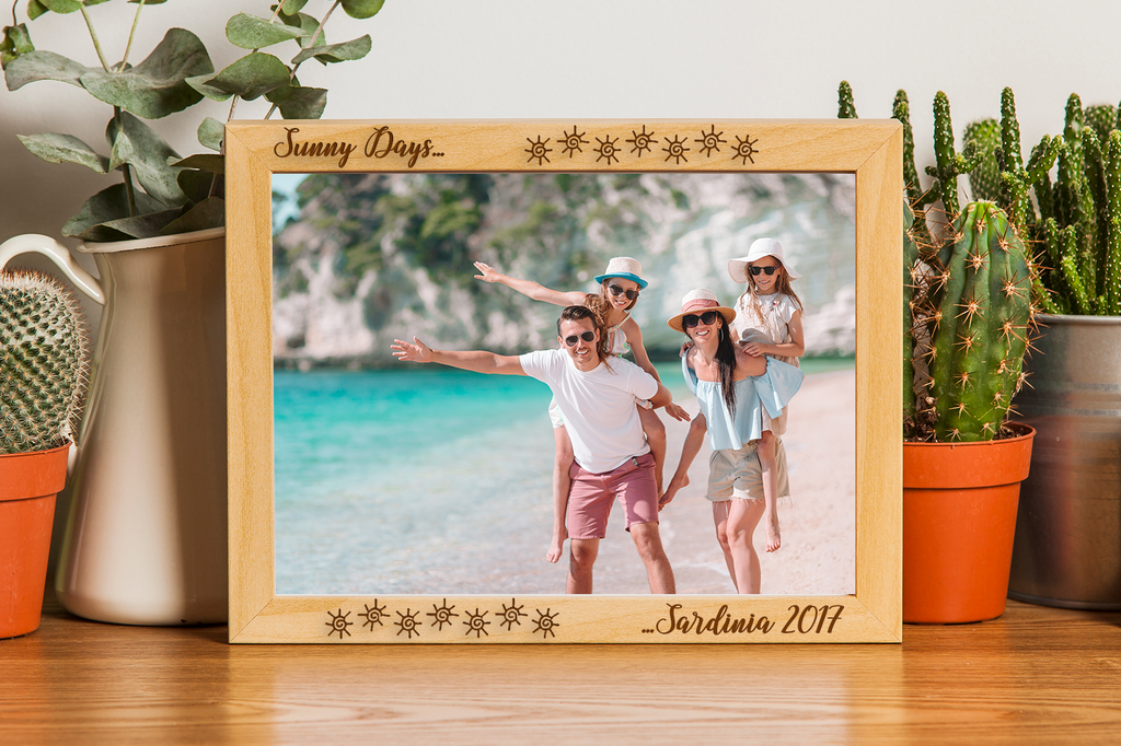 Natural Wood Photo Frame