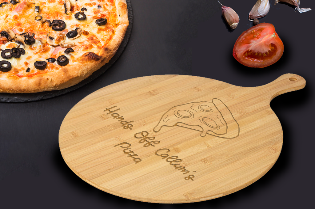 Personalised Bamboo Pizza Board