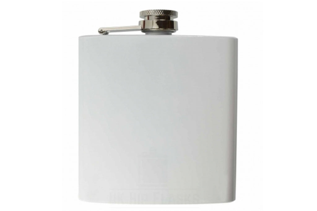 Usher/Best Man Matt Black Hip Flask 500ml