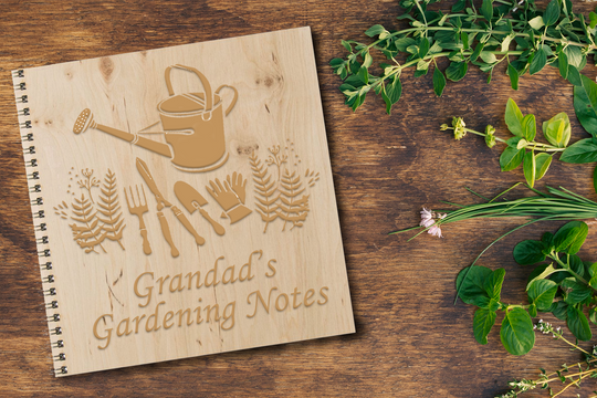 Personalised Notebook Gift For Your Grandad