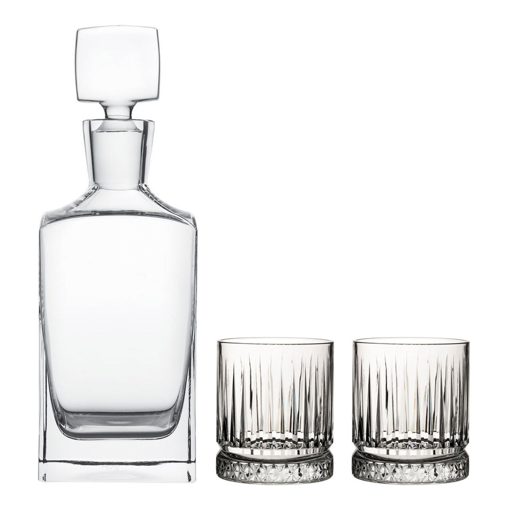 Whiskey Crystal Glass Decanter Gift Set