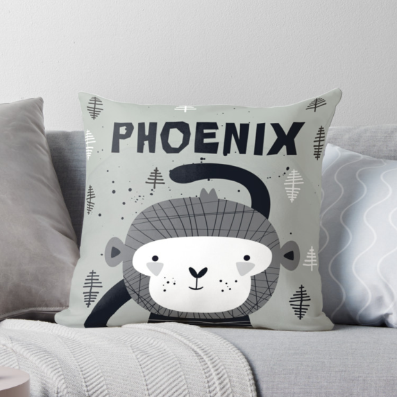 Cheeky Monkey — Cushion / Pick and Name it