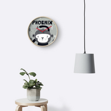 Cheeky Monkey — Wall Clock / Pick and Name it