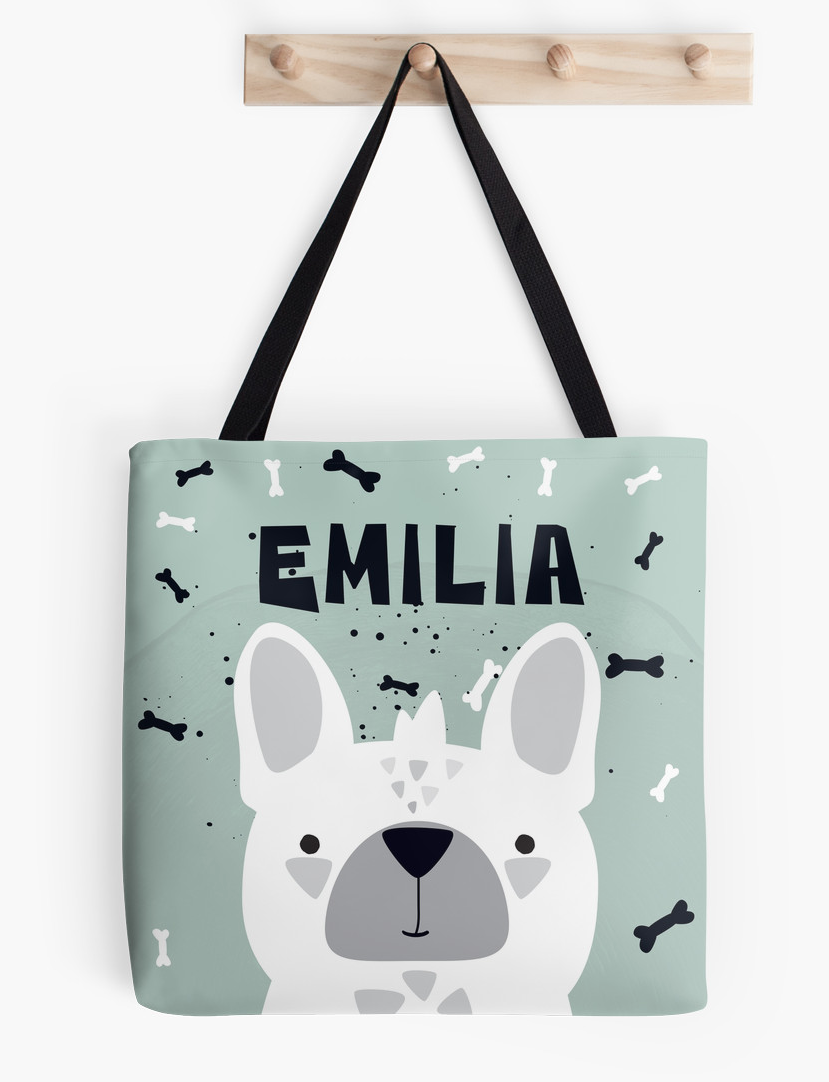 Frenchie — Tote Bag / Pick and Name it
