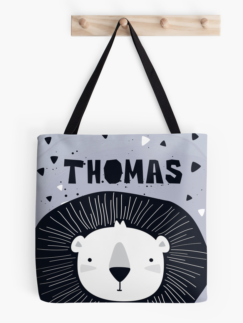Lion Cub — Tote Bag / Pick and Name it
