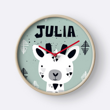 Tiny Giraffe — Wall Clock / Pick and Name it