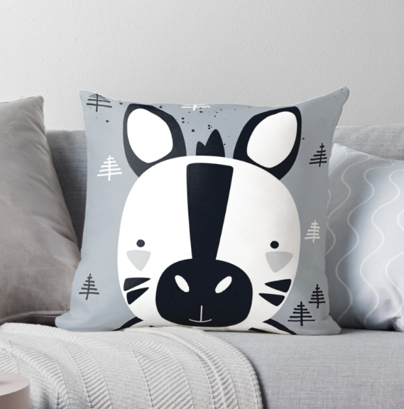 Little Zebra — Cushion