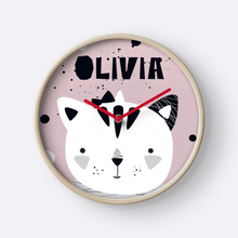 Pussy Cat — Wall Clock / Pick and Name it