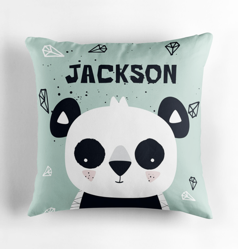 Panda Cub — Cushion / Pick and Name it