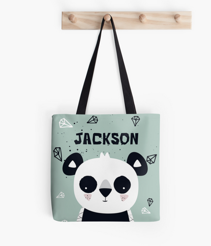 Panda Cub — Tote Bag / Pick and Name it