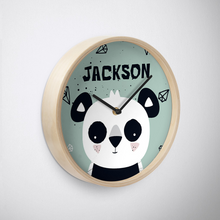 Panda Cub — Wall Clock / Pick and Name it
