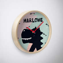 Baby Dino — Wall Clock / Pick and Name it