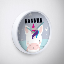 Baby Unicorn — Wall Clock / Pick and Name it