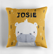 Baby Hippo — Cushion / Pick and Name it