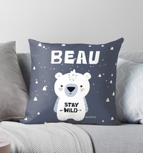 Polar Bear Cub — Cushion / Pick and Name it