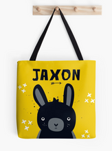 Baby Bunny Blacky — Tote Bag / Pick & Name it