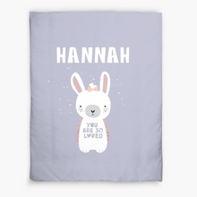 Bunny — Doona Cover 173x224cm / Pick and Name it