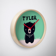 Baby Tassie Devil — Wall Clock / Pick and Name it