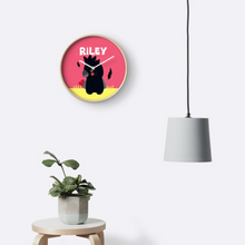 Baby Black Cockatoo — Wall Clock / Pick and Name it