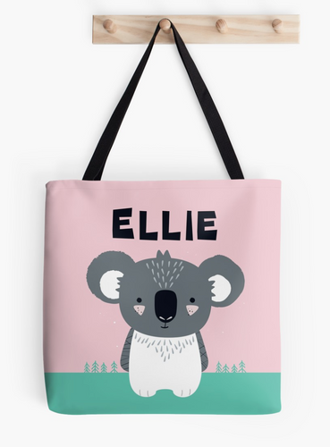 Baby Koala — Tote Bag / Pick & Name it