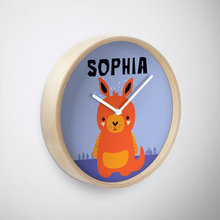 Baby Kangaroo — Wall Clock / Pick and Name it