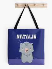Baby Wombat — Tote Bag / Pick & Name it