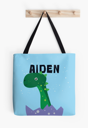 Baby Brachiosaurus — Tote Bag / Pick and Name it